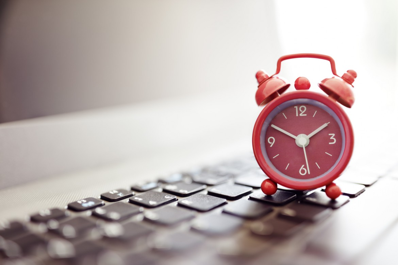 Jeder Klick bei der Erstellung einer Homepage braucht seine Zeit.